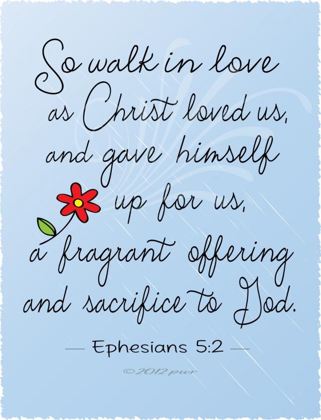 Ephesians 5 like Jesus