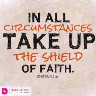 Ephesians 6 faith shield