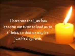 Galatians 3 justified