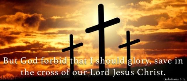 Galatians 6 cross of Jesus