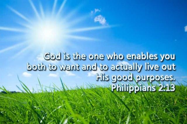 Philippians 2 God wants