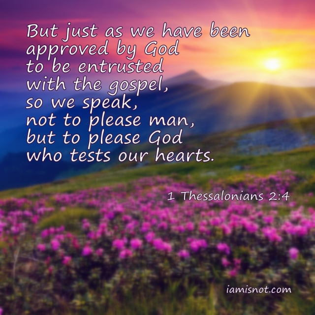 1 Thessalonians 2 hearts for God