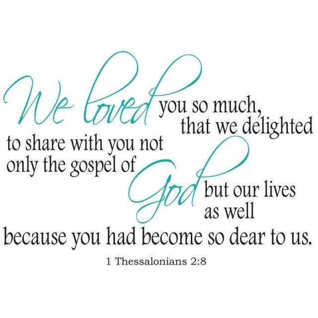 1 Thessalonians 2 pastors heart