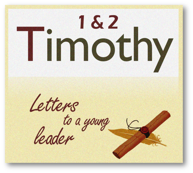 1 Timothy 1 letters to a leader