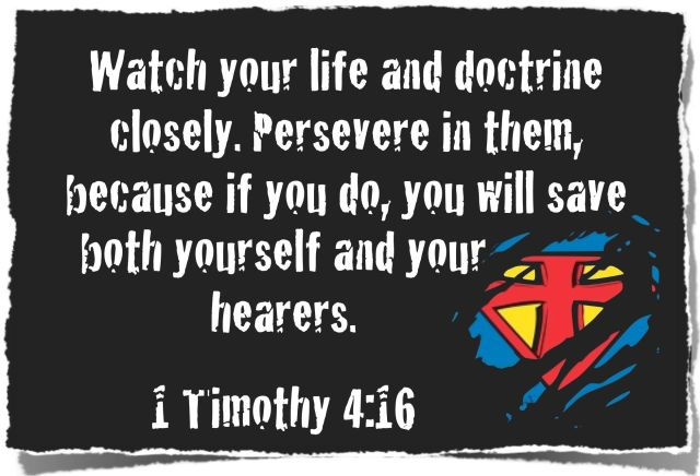 1 Timothy 4 watch