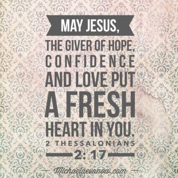 2 Thessalonians 2 fresh heart