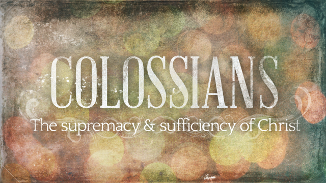 Colossians 1 Christ in us