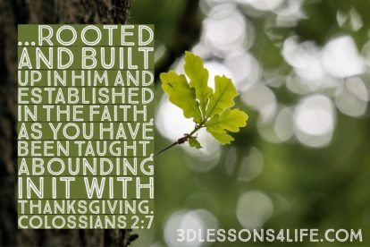 Colossians 2 Christ in us