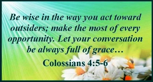 Colossians 4 make the most