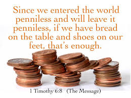 1 timothy 6 penneys