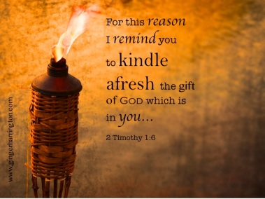 2 Timothy 1 rekindle the fire