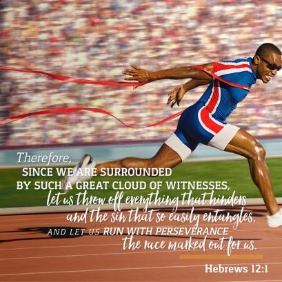 Hebrews 12 finish well