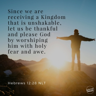 Hebrews 12 worship