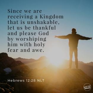Hebrews 12 worship