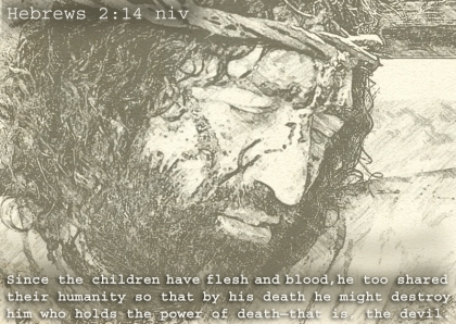 Hebrews 2 suffered for us
