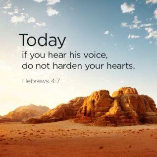 Hebrews 4 today