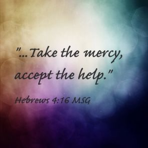 Hebrews 5 take the mercy