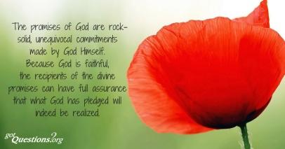 Hebrews 6 promises unchanged