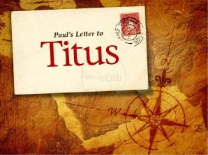 Titus 1 letter