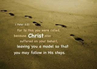 1 Peter 2 model of Christs