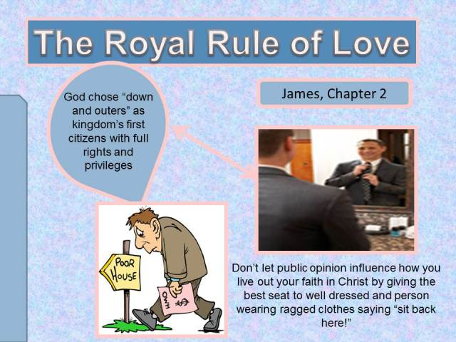 James 2, opinion