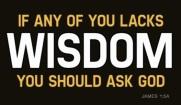 James 3 ask for wisdom