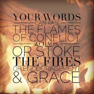 James 3 words of grace