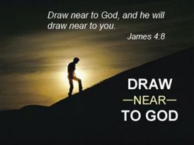 James 4 draw near