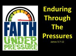 James 5 enduring
