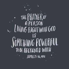 James 5 prayer