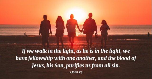 1 John 1 walk together