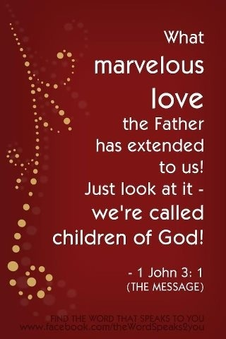 1 John 3 children of God