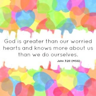 1 John 3 worried hearts