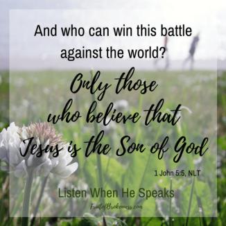 1 John 5 believe