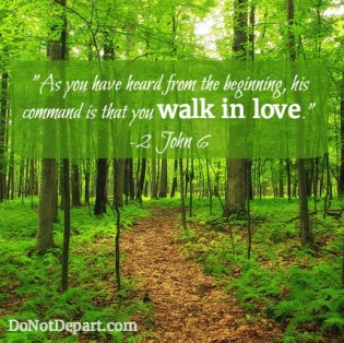 2 John walk in love