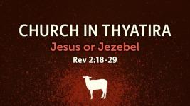 Revelation 2 Jesus or