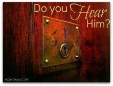 Revelation 3 hear him