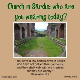 Revelation 3 sardis dress