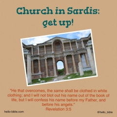 Revelation 3 sardis