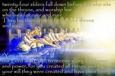 Revelation 4 24 elders