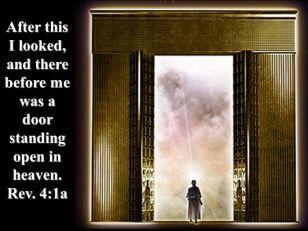 Revelation 4 open door