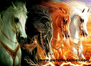 Revelation 6 horses