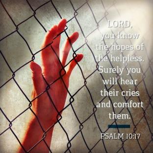 Psalm 10 hear the cry