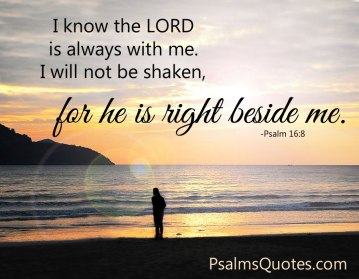 Psalm 16 God is with me