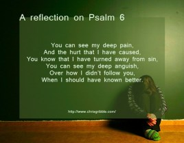 Psalm 6 impression