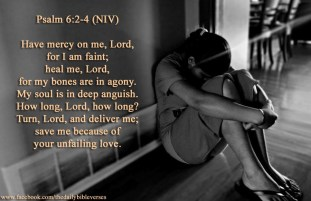 Psalm 6 save me