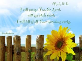Psalm 9 God