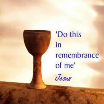 Revelation 16 cup of Jesus