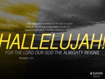 Revelation 19 hallelujah