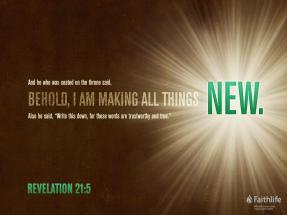 Revelation 21 new